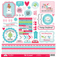 Doodlebug Design - Let It Snow Collection - 12 x 12 Cardstock Stickers - This and That