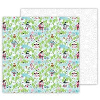 Doodlebug Design - Let It Snow Collection - 12 x 12 Double Sided Cardstock - North Pole