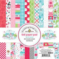Doodlebug Design - Let It Snow Collection - 6 x 6 Paper Pad