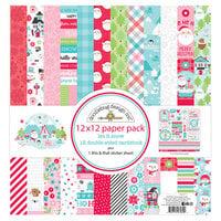 Doodlebug Design - Let It Snow Collection - 12 x 12 Paper Pack