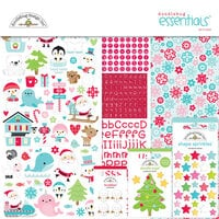 Doodlebug Design - Let It Snow Collection - Essentials Kit