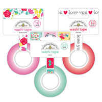 Doodlebug Design - Love Notes Collection - Washi Tape Bundle