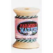 Daisy Bucket Designs - Shabby Green Door - Farmer's Market Collection - Lime Twist Spool - Twine - 25 Yards, CLEARANCE