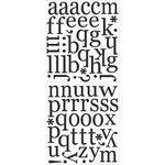 Daisy Bucket Designs - Shabby Green Door - Farmer's Market Collection - Chipboard Alphabet - Market Typeset, CLEARANCE