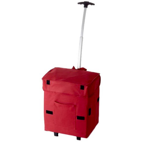 DBest Products - Smart Cart - Rolling Tote - Red