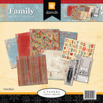 Daisy D's Paper Company - Beacon Hill Collection - Scrapbook Kit - Family