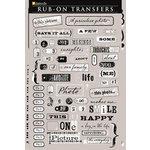 Daisy D's Paper Company - Rub-Ons Transfers - Snapshots, CLEARANCE