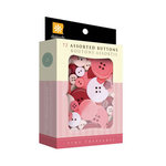Daisy D's Paper Company - Valentine's Day Collection - Assorted Buttons