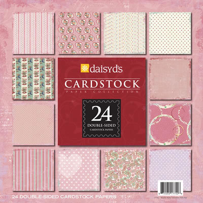 Daisy D's Paper Company - Valentine's Day Collection - 8x8 Premium Paper Collection