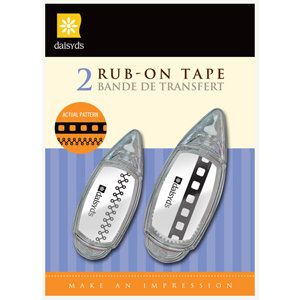 Daisy D's Paper Company - Rub-Ons Transfers - File Edge, CLEARANCE