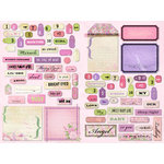 Daisy D's Paper Company - Sweet Baby Jane Collection - Cardstock Die-Cuts - Sweet Baby Girl, CLEARANCE