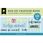 Daisy D's Paper Company - Bambino Collection - Rub-On Book, CLEARANCE