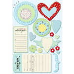 Daisy D's Paper Company - Bambino Collection - Cardstock Stickers - Baby Boy Elements, CLEARANCE