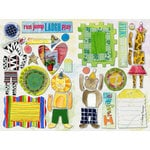 Daisy D's Paper Company - Wonder Years Collection - Cardstock Die-Cuts - Best Friends, CLEARANCE