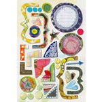 Daisy D's Paper Company - Wonder Years Collection - Cardstock Stickers - Tea Party, CLEARANCE