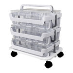 Deflecto - Stackable Caddy Organizer Bundle