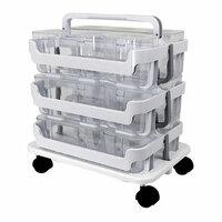 Deflecto - Stackable Caddy Organizer Bundle