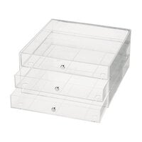 Deflecto - Three Drawer Organizer - Large