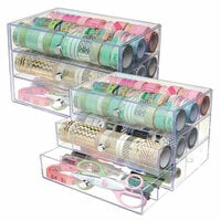 Deflecto - Washi Tape Storage Cube - 2 Pack Set
