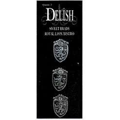 Delish Designs - Bistro Collection - Sweet Brads - Royal Lion, CLEARANCE
