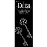 Delish Designs - Bistro Collection - Metal Charms - Bistro Keys