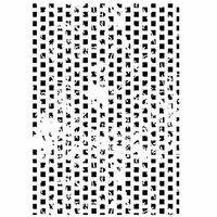 Dress My Craft - A4 Stencil - Distressed Blocks