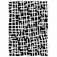 Dress My Craft - A4 Stencil - Broken Edges