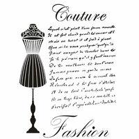 Dress My Craft - A4 Stencil - Couture Fashion