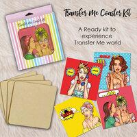 Dress My Craft - Transfer Me - Coaster Kit