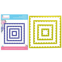 Dress My Craft - Dies - Inverted Stitched Scalloped Square