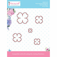 Dress My Craft - Flower Making Dies - Four Petal