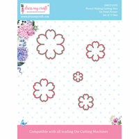 Dress My Craft - Flower Making Dies - Six Petal