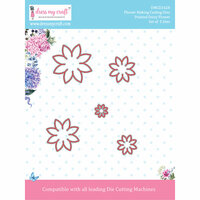 Dress My Craft - Flower Making Dies - Pointed Daisy