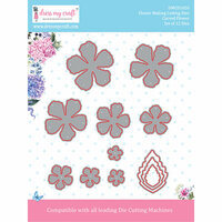 Dress My Craft - Flower Making Dies - Curved Flower