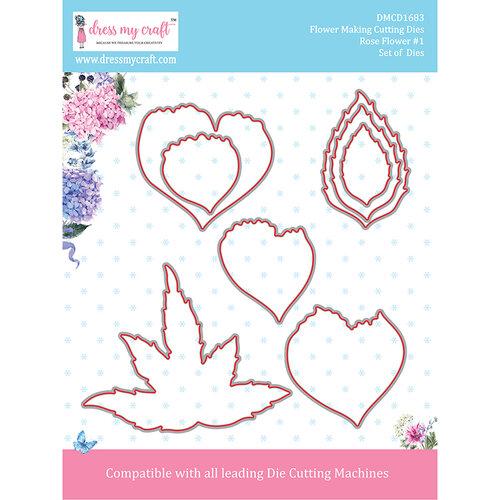 Dress My Craft - Flower Making Dies - Rose 1