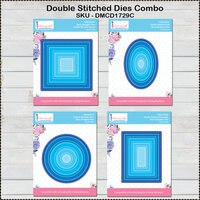 Dress My Craft - Designer Dies Combo Pack - Double Stitched