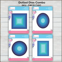 Dress My Craft - Designer Dies Combo Pack - Dotted Lines