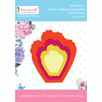 Dress My Craft - Flower Making Dies - Peony Petals