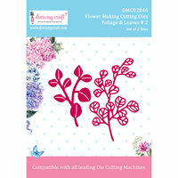 Dress My Craft - Flower Making Dies - Foliage And Leaves 2