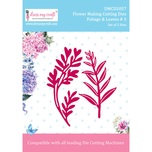 Dress My Craft - Flower Making Dies - Foliage and Leaves 3