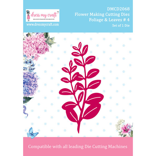 Dress My Craft - Flower Making Dies - Foliage And Leaves 4