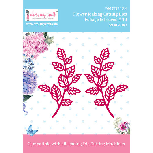 Dress My Craft - Flower Making Dies - Foliage and Leaves 10