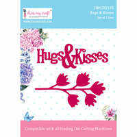 Dress My Craft - Dies - Hugs & Kisses
