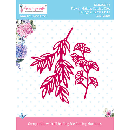Dress My Craft - Flower Making Dies - Foliage and Leaves 11