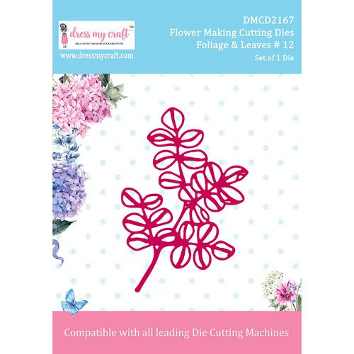 Dress My Craft - Flower Making Dies - Foliage and Leaves 12