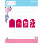 Dress My Craft - Dies - Love Tags 1