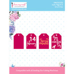 Dress My Craft - Dies - Love Tags 2