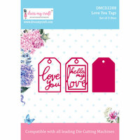 Dress My Craft - Dies - Love You Tags