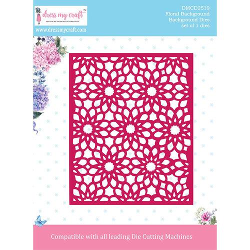 Dress My Craft - Background Dies - Floral Background