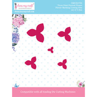 Dress My Craft - Flower Making Dies - Three Petal Pointed Flower